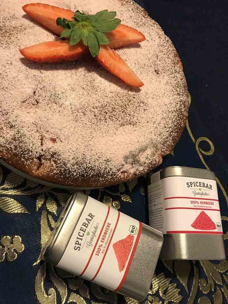 Polvere di fragole e di lamponi di Spicebar