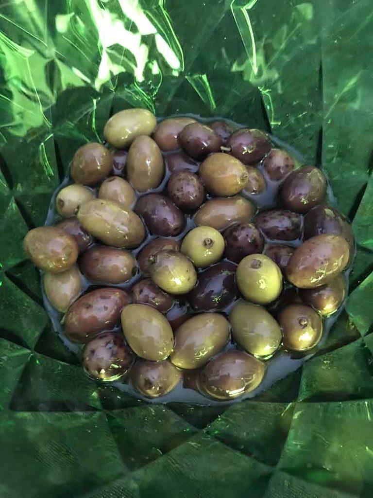 Ciotolina Koziol Crystal con olive