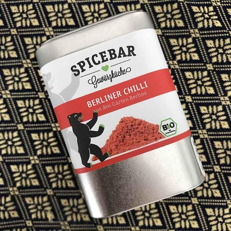 Berliner Chilli peperoncino in polvere di Spicebar