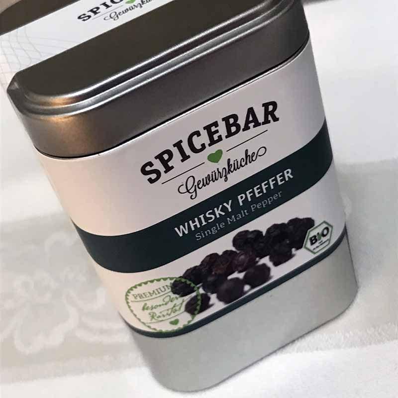 Pepe nero di Malabar al whisky di Spicebar