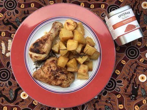 Pollo e patate con mix spezie polvere magica Magic Dust di Spicebar
