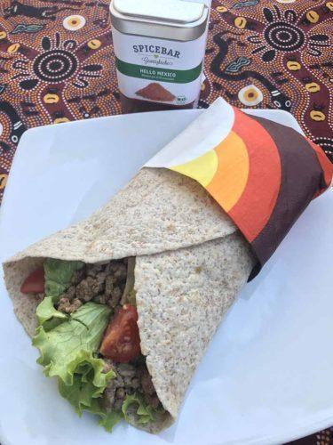 Tortillas con carne e spezie messicane Hello Mexico di Spicebar