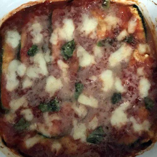 Zucchine alla parmigiana light