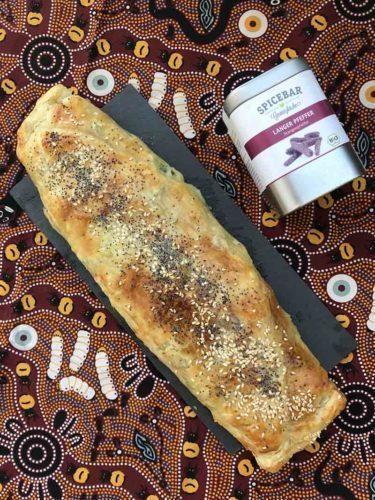 Rotolo alle zucchine prosciutto cotto e scamorza con pepe lungo Spicebar