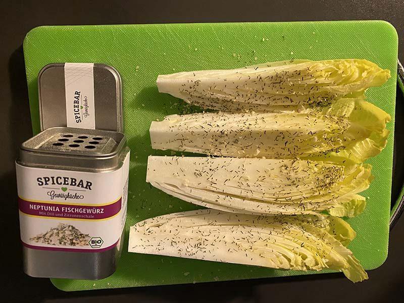 Indivia belga con mix di spezie Neptunia di Spicebar