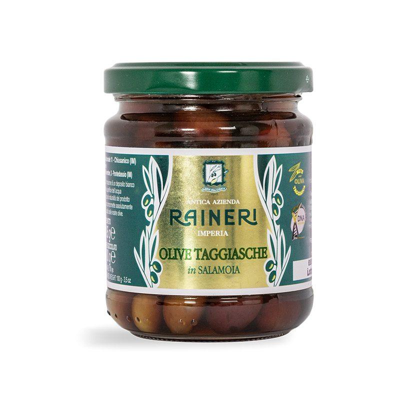 Olive taggiasche in salamoia Raineri