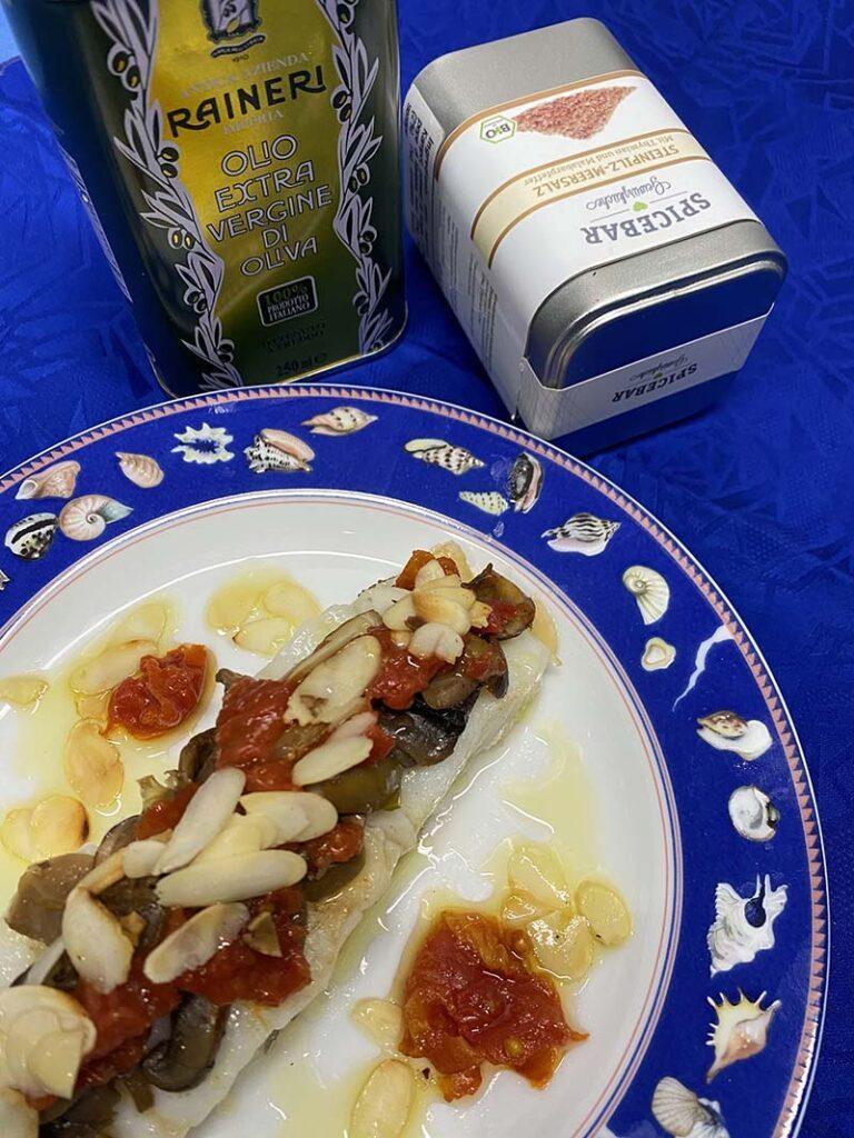 Olio evo Raineri e sale aromatizzato ai funghi e timo di Spicebar