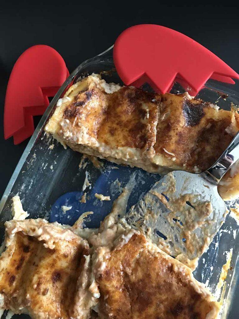 Lasagne e presine in silicone magnetiche Hearty di Pusher