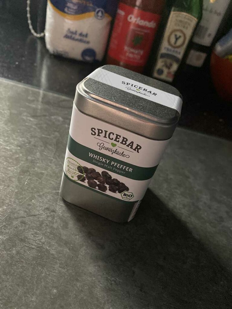 Pepe al whisky di Spicebar