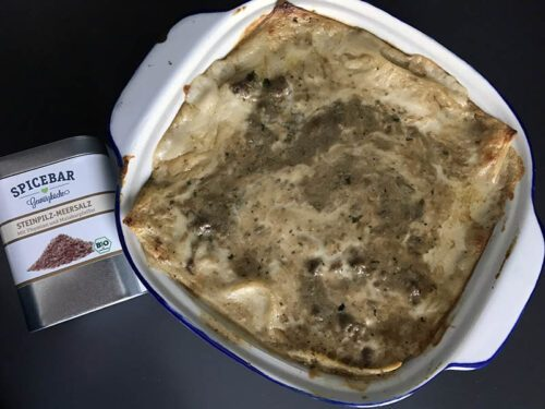 Lasagne ai funghi porcini e carne